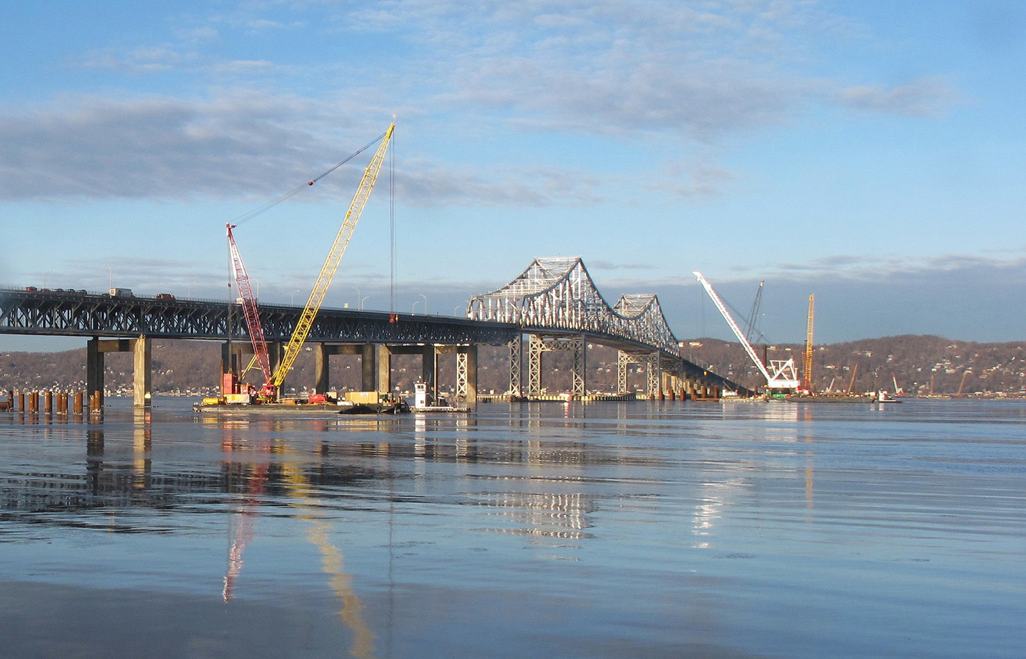 Industry Suppliers Build Safety into Tappan Zee Bridge Replacement ...