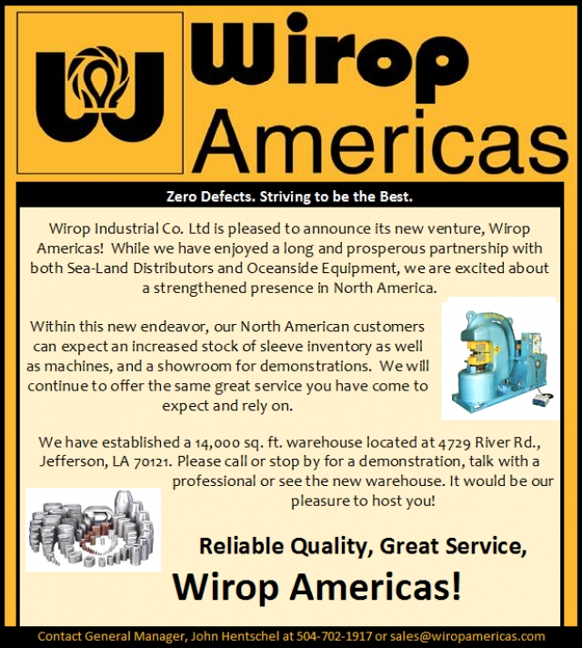 Introducing Wirop Americas / Wire Rope Exchange