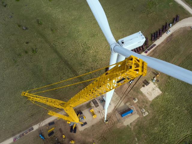 Trand chooses Liebherr LG 1750 for wind turbine project in
